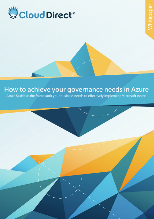 Azure Scaffold governance whitepaper