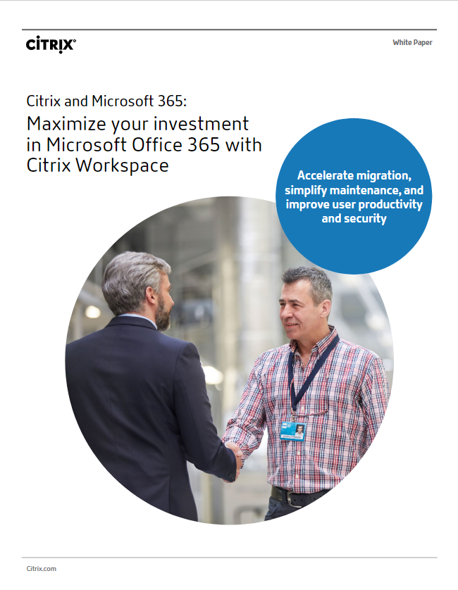 citrix and office 365 whitepaper